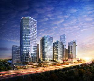云南润城第四大道工程(模型审核、模型应用)