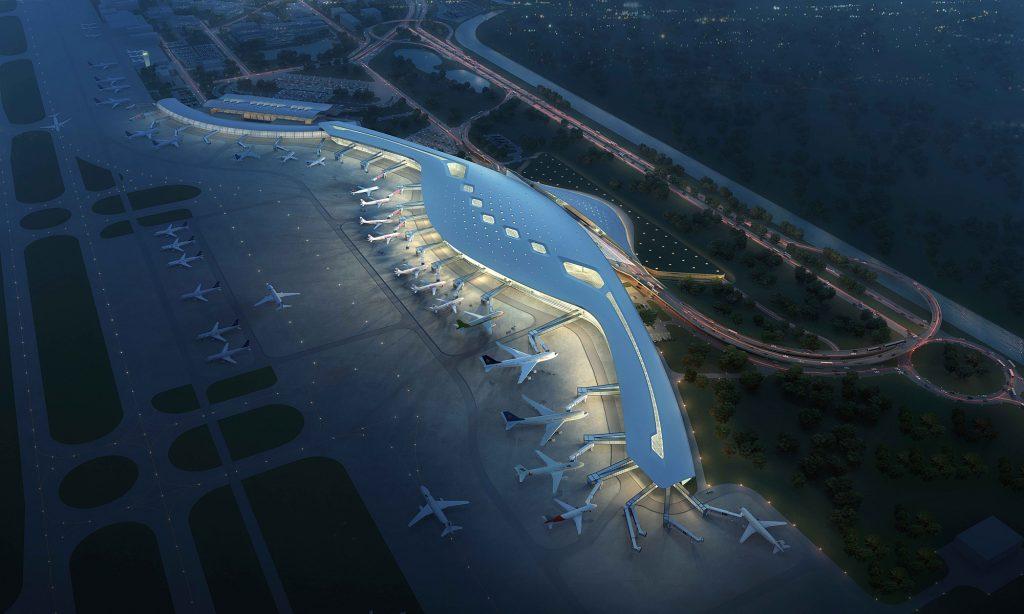 宁波栎社国际机场三期扩建工程