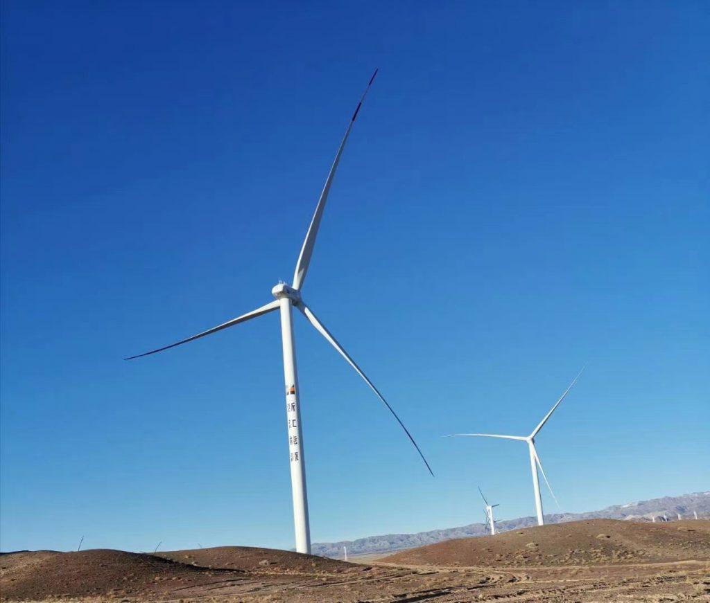 五家渠浙能新能源六师北塔山牧场100MW风电项目