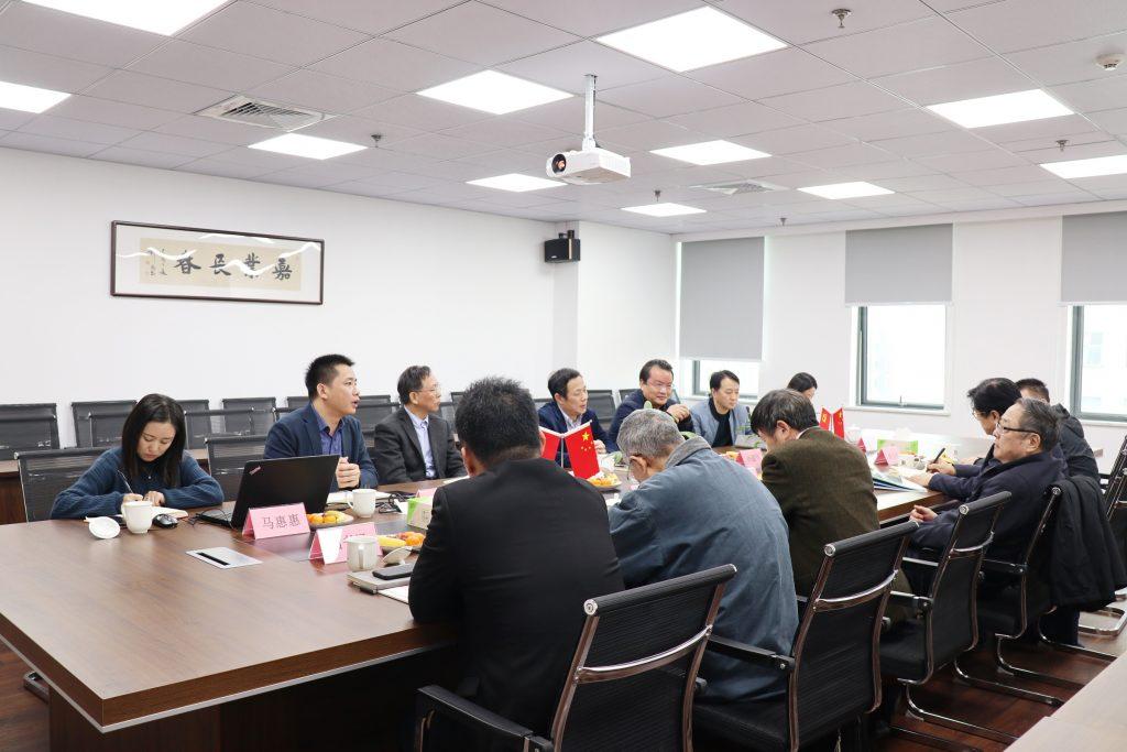 浙江省轨道交通建设与管理协会赵彦年会长一行莅临公司考察调研