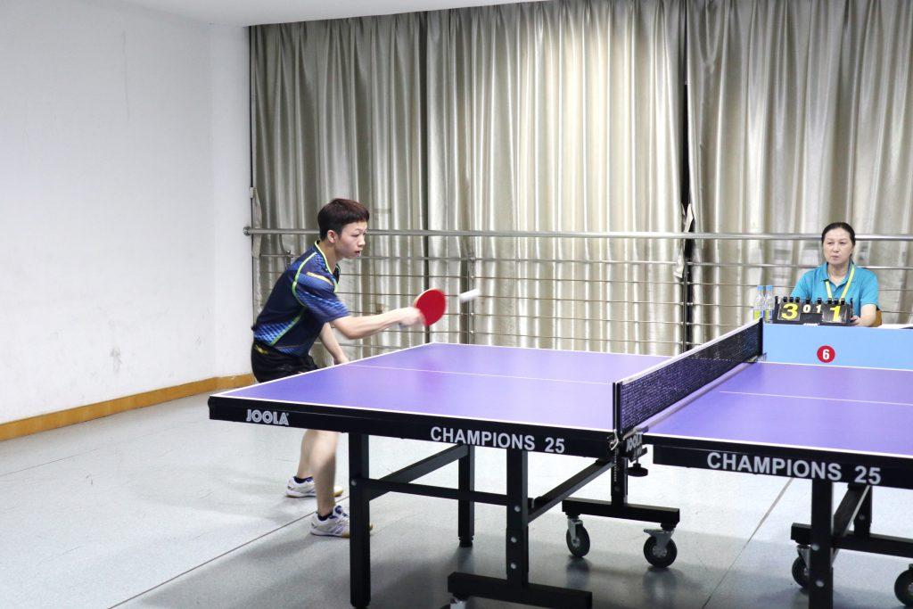 """公司荣获高新区建协""""九峰杯""""乒乓球联谊赛团体亚军"""