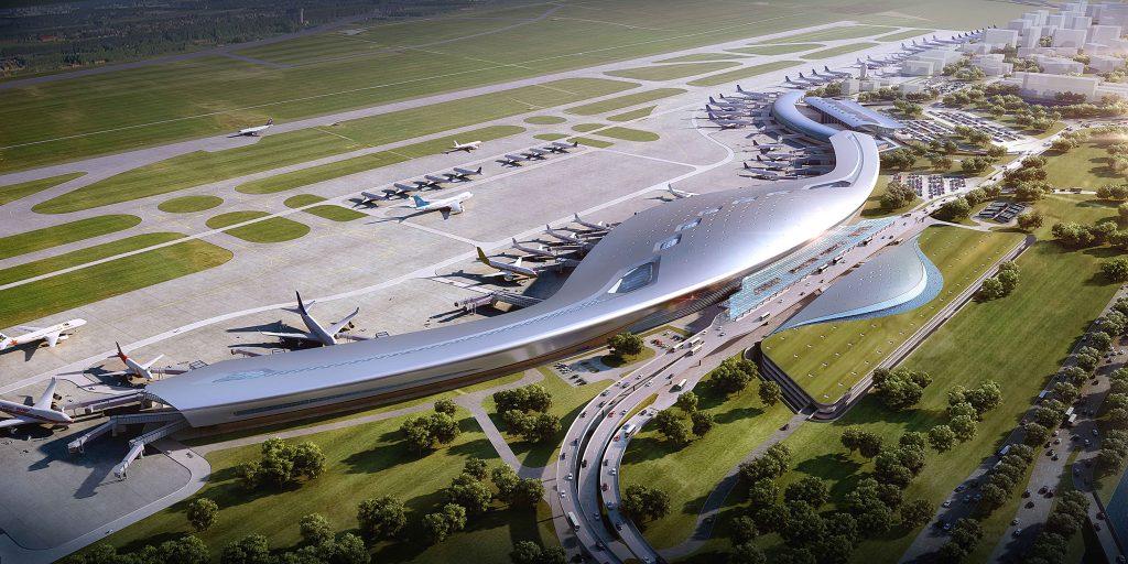 栎社国际机场三期扩建工程
