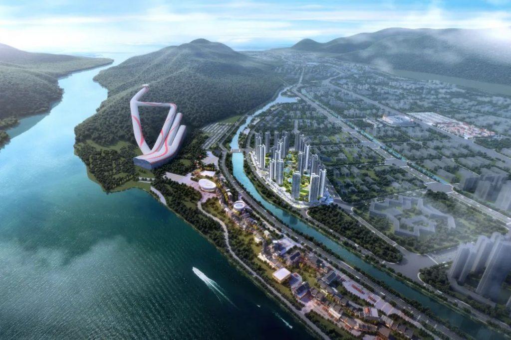 广东肇庆万达度假区项目二期滑雪场、酒店、温泉中心、会议中心