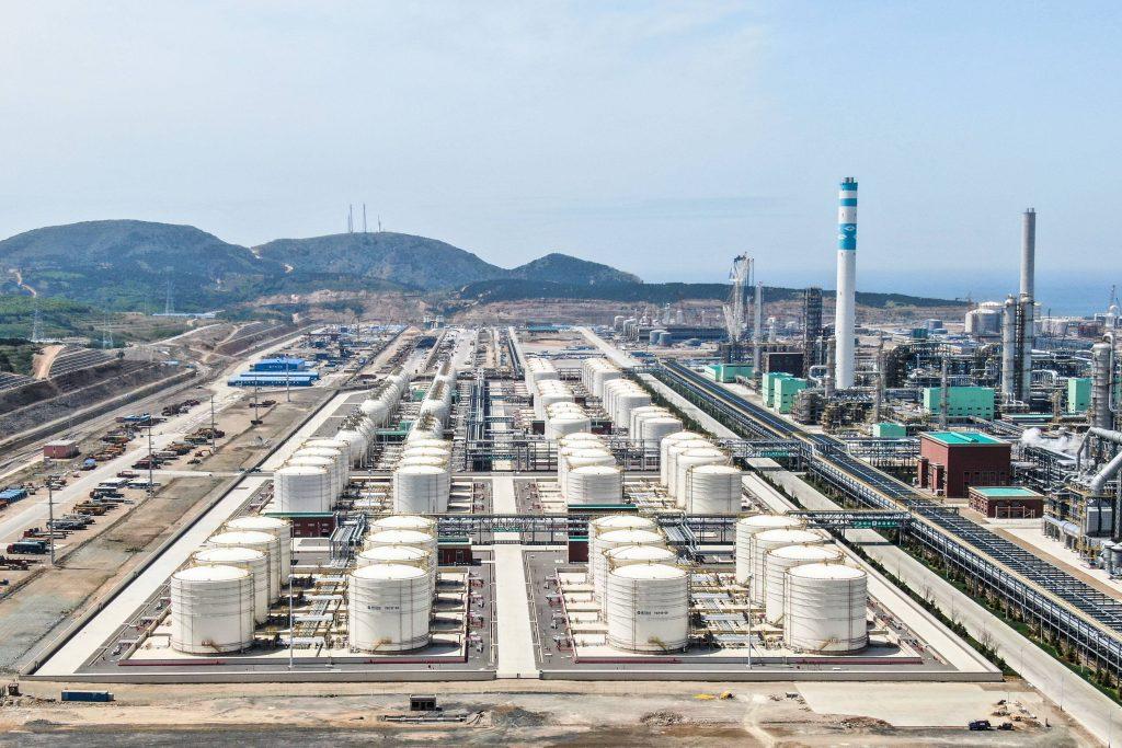 浙江石化4000万吨年炼化一体化项目一期工程